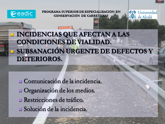 Incidencias y Subsanación incidentes