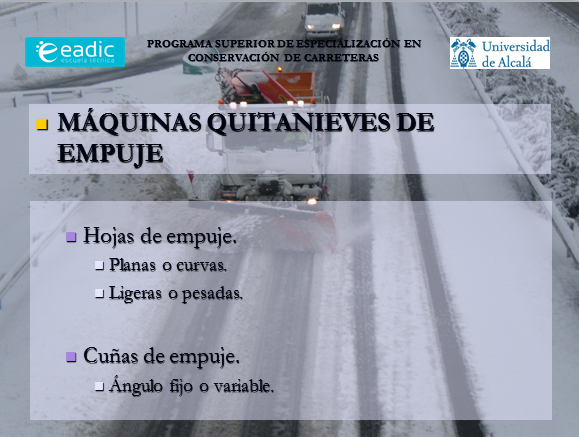Quitanieves de Empuje